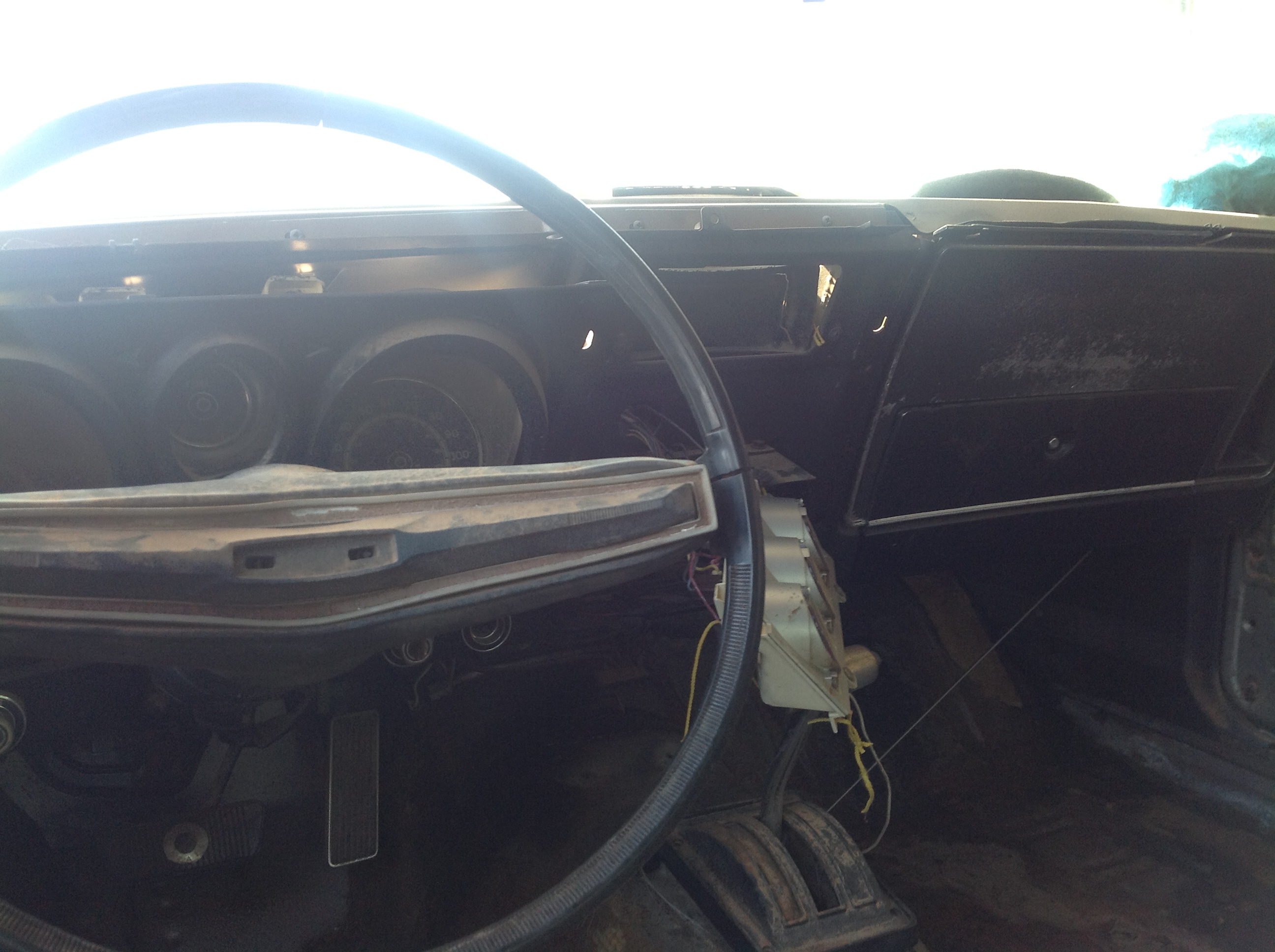 One last shot of the great interior before it gets stripped