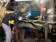 "Cadillac Joe welding up the Magnaflow 2 1/2"" stainless steel exhaust system"